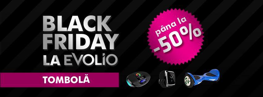 Black Friday la Evolio
