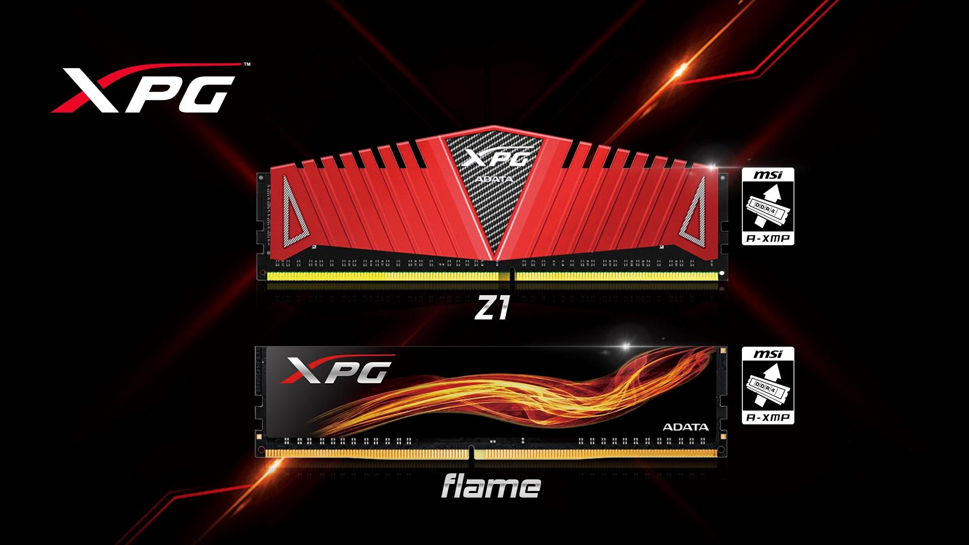 Memoriile ADATA XPG DDR4 validate oficial de către AMD ca fiind compatibile cu AM4/Ryzen