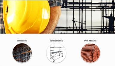Serviciul de inchiriere schele fixe, ideal pentru lucrari de constructii