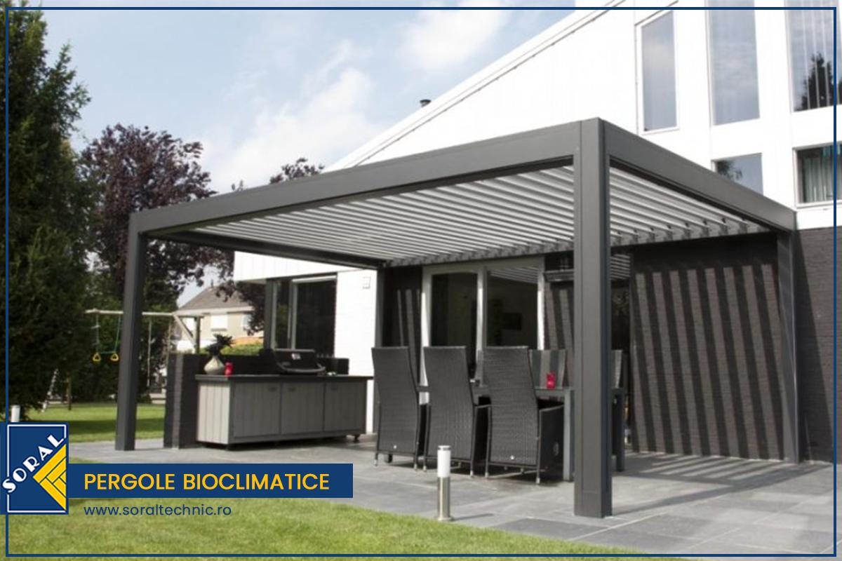 Aplicatii rezidentiale si comerciale – Instaleaza pergole bioclimatice pentru modificari de ordin estetic si functional