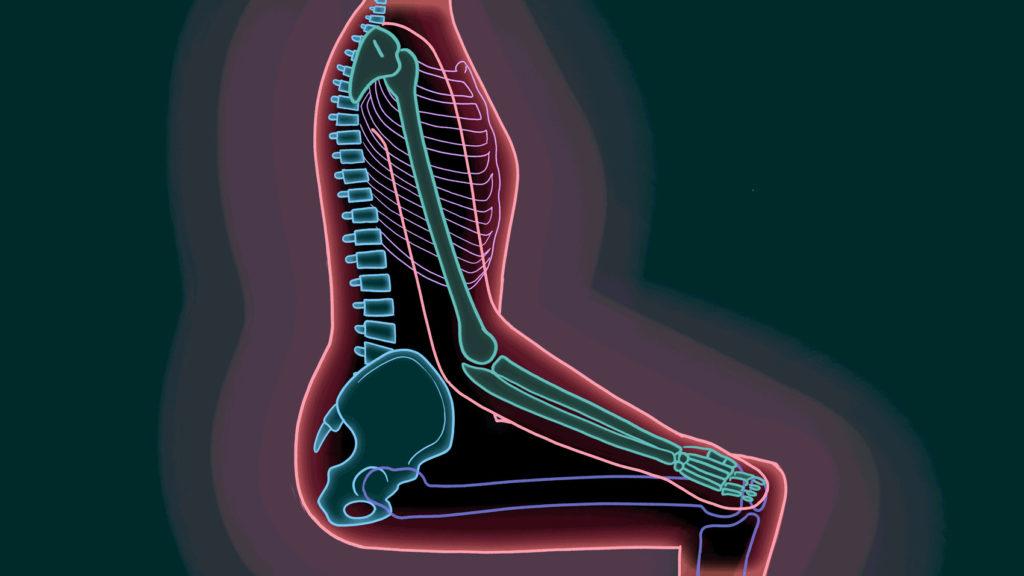Postura corecta pe scaun
