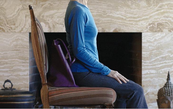 postura corecta pe scaun obisnuit